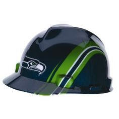 Seahawks Hard Hat Photos