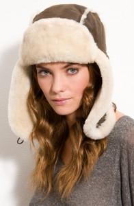 Shearling Hats for Women