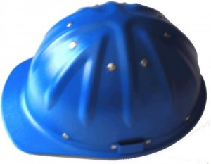 Skull Bucket Aluminum Hard Hats