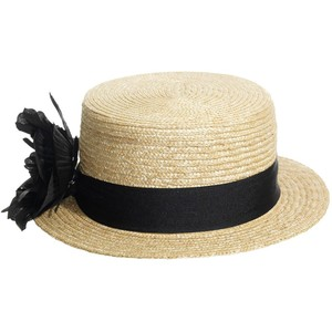 Straw Boater Hat Picture