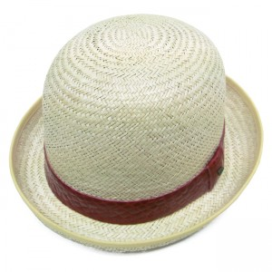 Straw Bowler Hat Mens