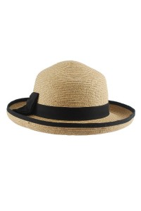 Straw Bowler Hat Women