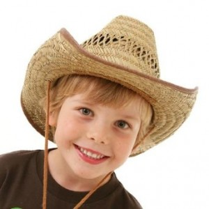 Straw Cowboy Hats for Kids