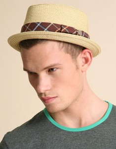 Straw Fedora Hat for Men