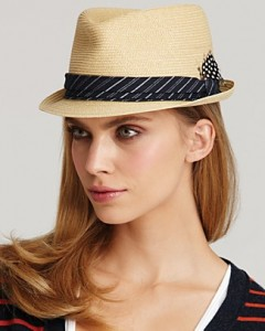 Straw Fedora Hats Women