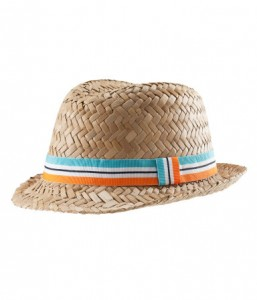 Straw Fedora Hats for Babies