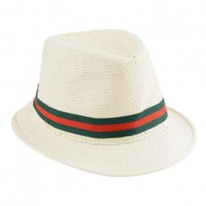 Straw Fedora Hats for Big Heads