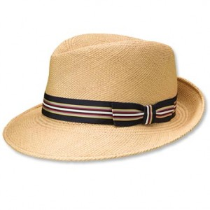 Straw Fedora Hats for Men