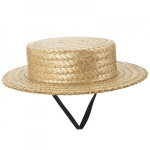 Straw Hat Boater