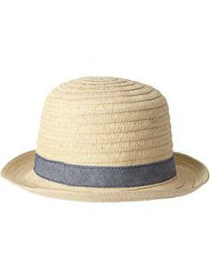 Straw Hats for Toddlers