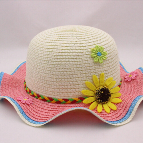 Toddler Straw Hats Tag
