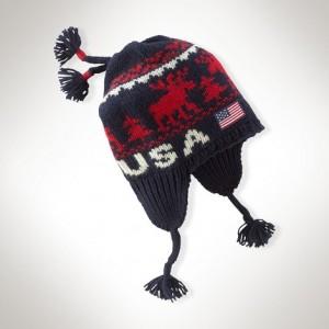 USA Winter Olympics Hat