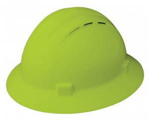Vented Full Brim Hard Hat