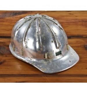 Vintage Aluminum Hard Hat