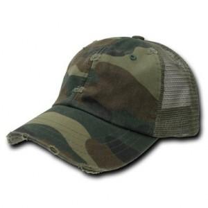 Vintage Camo Trucker Hat