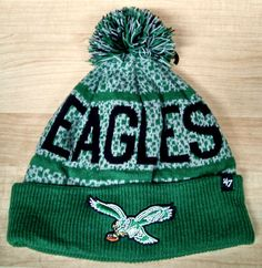 Vintage Eagles Winter Hat