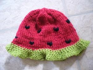 Watermelon Hat Knitting Pattern