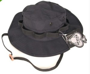 Waterproof Boonie Hat Black