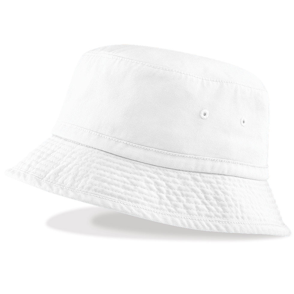 White Bucket Hats Tag Hats