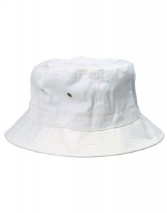 White Bucket Hats