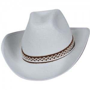 White Cowboy Hat Outfit