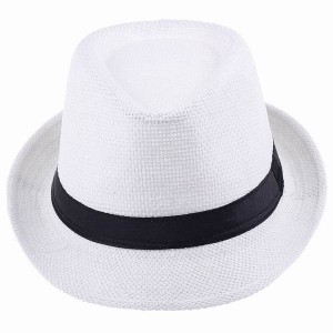 White Cowboy Hat for Men