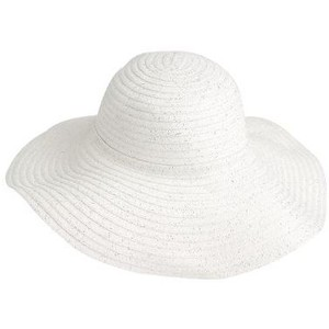 White Floppy Hat