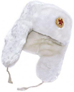 White Russian Winter Hat