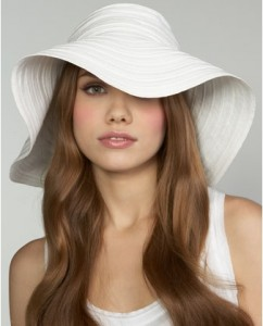 White Sun Hats for Women