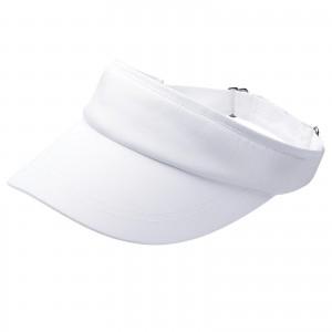 White Tennis Hat