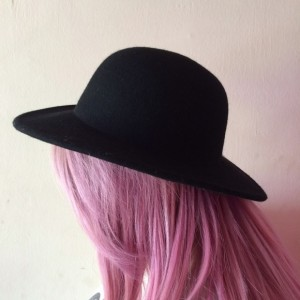 Wide Brim Bowler Hat Images