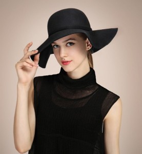 Wide Brim Bowler Hat Photos