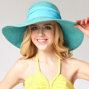 Wide Brim Floppy Beach Hat