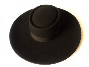 Wide Brim Pork Pie Hat