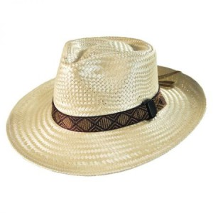 Wide Brim Straw Hat Mens