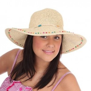 Wide Brim Straw Hat Pictures