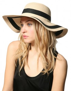 Wide Brim Straw Hats for Women