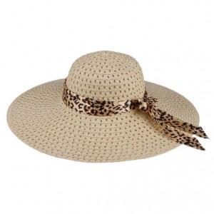 Wide Brim Straw Sun Hat