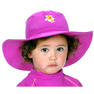 Wide Brim Sun Hat for Baby