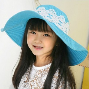 Wide Brim Sun Hats for Kids