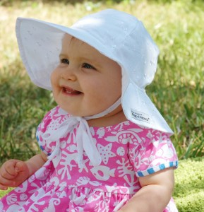 Wide Brim Sun Hats for Toddlers
