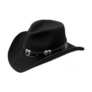 Womens Black Cowboy Hats