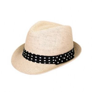 Womens Fedora Straw Hat