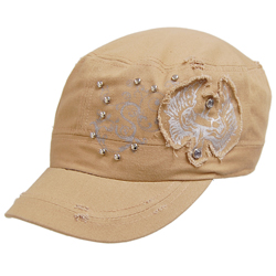 Womens Military Style Hat