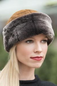 Womens Shearling Hat