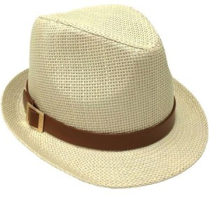Womens Straw Fedora Hats