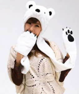 Animal Hat with Paws