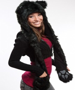 Animal Hats with Paws for Adults