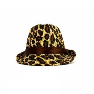 Animal Print Hat