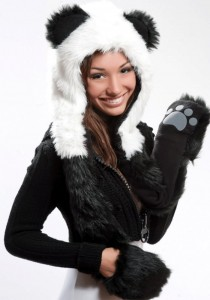 Animal Winter Hats with Paws